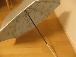 UVカット率99% 15分後に5℃涼しい日傘☆シルバーコーティング
