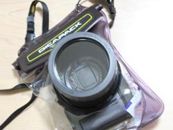 DiCAPacαで手持ちのカメラを防水に!