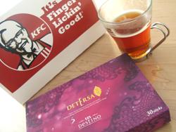暴食とアンデスティノデテーサ茶