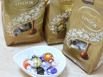 リンツ リンドールのチョコレート
