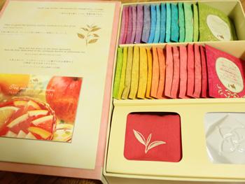 今年もルピシアTHE BOOK OF TEA for ladies2買いました