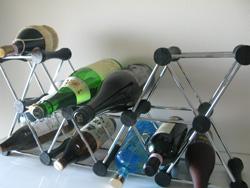 ワインラックにお酒を収納