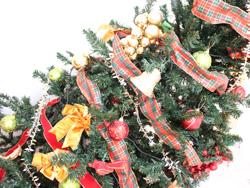 クリスマス準備とワックスがけ