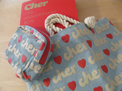 cherトートとポーチ!Cher 15th ANNIVERSARY BOX