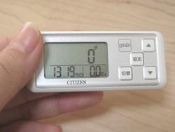 CITIZEN シチズンデジタル歩数計pebを購入