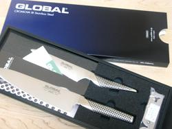 GLOBAL(グローバル)の包丁を買ったよ♪