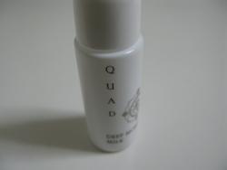 浸透する乳液!QUAD(クワド)化粧品の口コミ