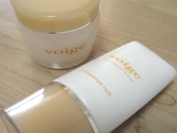 voige(ヴォイッジ)のUVミルクとクリームを購入♪