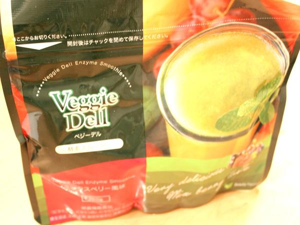 ベジーデル酵素スムージーで置き換えダイエットに挑戦