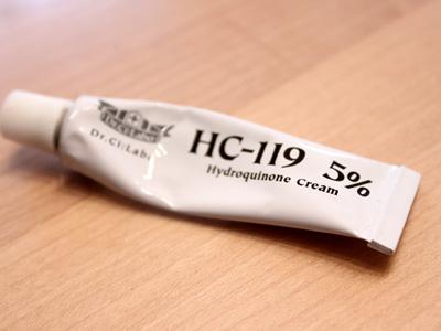 ハイドロキノン5%配合!ドクターシーラボHC-119口コミ体験談・感想