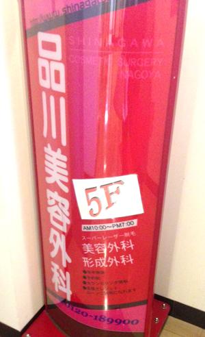 フォトシルクプラスを品川美容外科(名古屋)で受けました