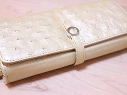 三京商会オーストリッチの長財布