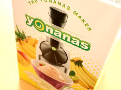 冷凍フルーツだけでアイスが作れる!ヨナナス
