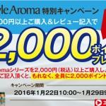 2000ポイントバック!かなりお得なヘアケアキャンペーン